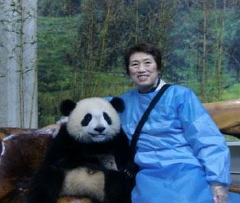 パンダの冠元ちゃん